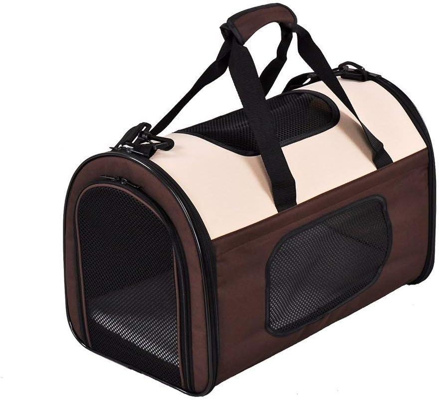 Pet Carrier Expandable Foldable Cat 5% OFF Carry Case Cheap bargain Med Carriers