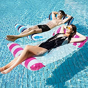 2-Pack Leopinky Inflatable Pool Floats