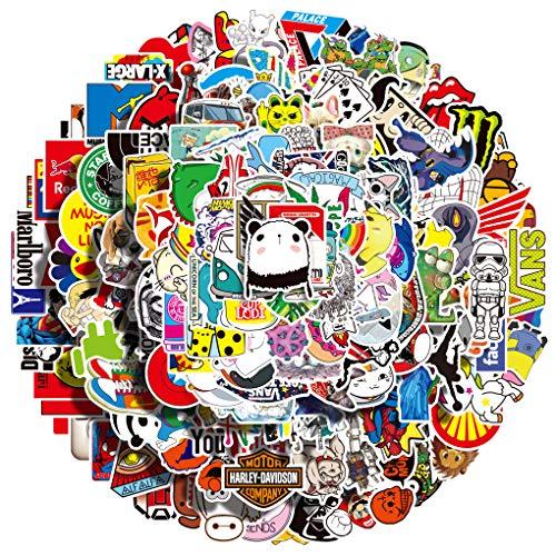 200-teiliges, cooles, wasserdichtes Vinyl. Empfohlene Aufkleber, schnell versandt. Jugendliche, Erwachsene, Autos, Motorrad, Fahrrad, Skateboardgepäck, Stoßstange
