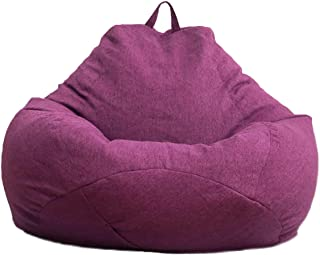 ALAN-TSANG Bean Bag cover Bean Bag Sofa Cover Signle Chair Cover Lounger Sofa Ottoman Seat Room Furniture Without Filler B...