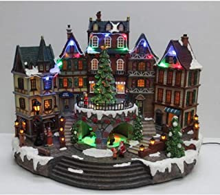 Best home accents holiday 12.5 in animated holiday downtown Reviews