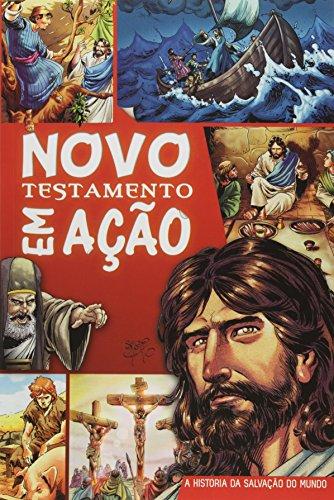 Novo Testamento em Ação - Capa Brochura Impressa