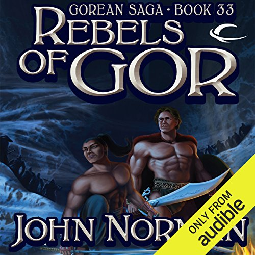Rebels of Gor audiobook cover art