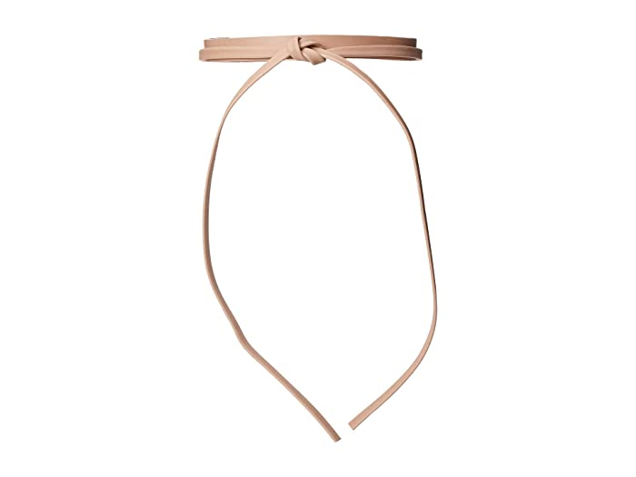 ADA Collection Skinny Wrap Belt (Rose (Texas Leather)) Women