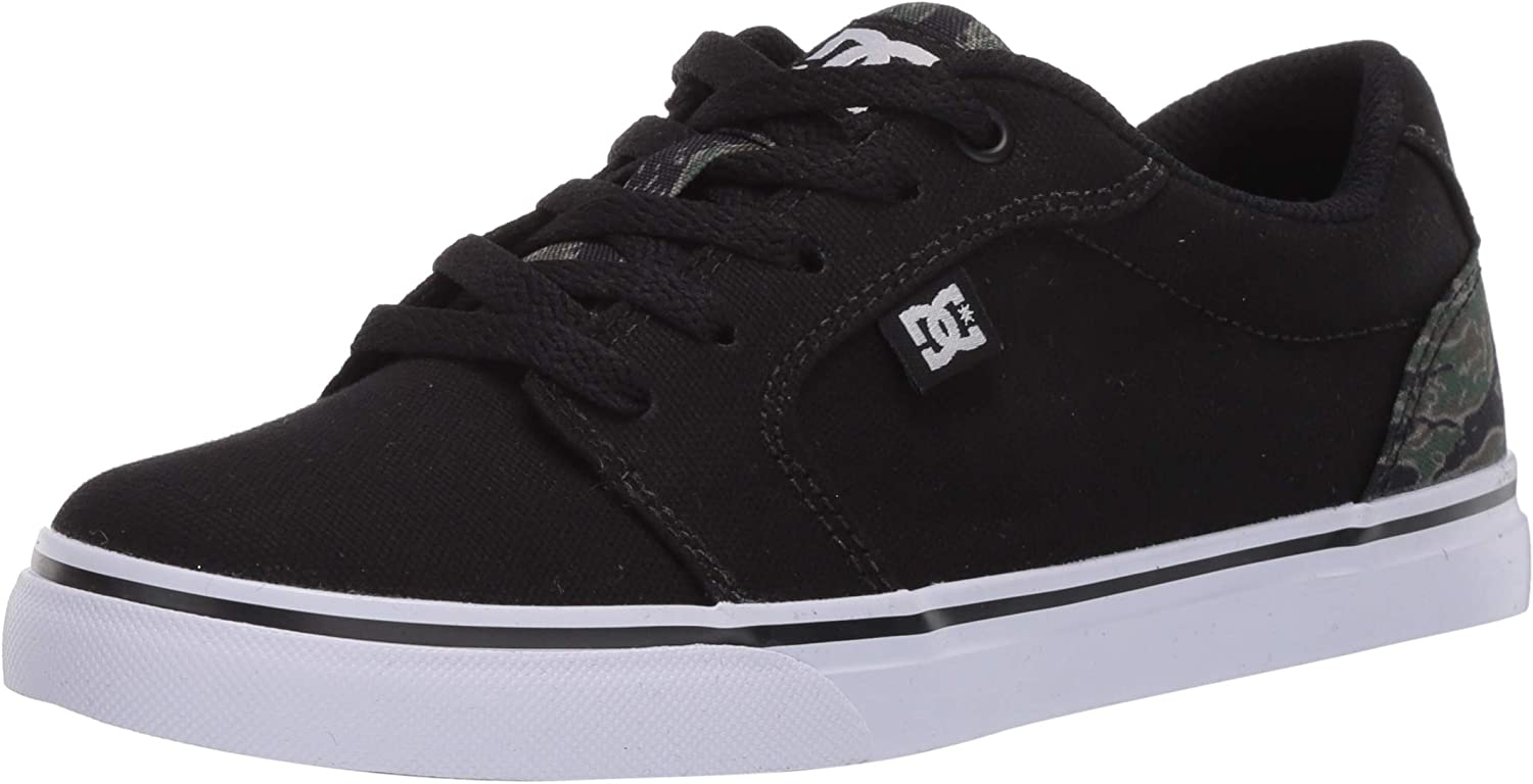 DC Clearance SALE Now free shipping Limited time Unisex-Child Anvil Tx Skate Shoe Se