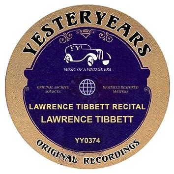 Lawrence Tibbett Recital