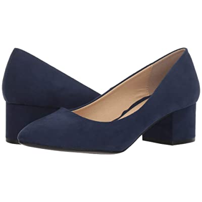 CL By Laundry Highest (Navy Super Suede) High Heels
