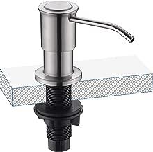 Keonjinn Sink Soap Dispenser,Built in Kitchen Sink Soap Dispenser,Manual Press Head,Two Ways of Using.