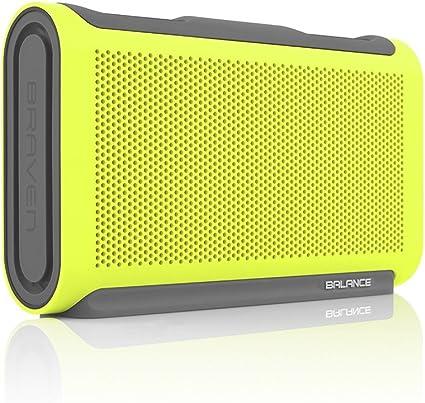 Braven BALXGG Balance Series Portable Waterproof Bluetooth Speaker