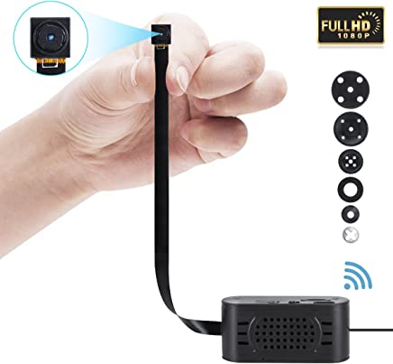 1080P WiFi Hidden Camera,SILLEYE Portable Spy Mini Wireless Small Security Camera With Motion Detection