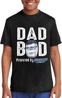 Dad BOD Powered by Busch Light Adolescent Handsome Short Sleeve Tee Shirt