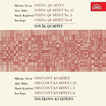 Ištván, Hába, Kopelent, Kapr: String Quartets