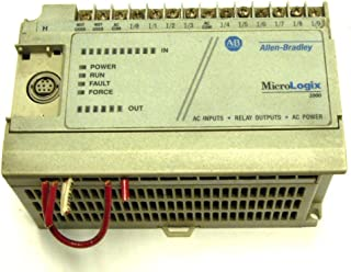 ALLEN BRADLEY 1761-L16AWA SER E CONTROLLER MICROLOGIX 1000