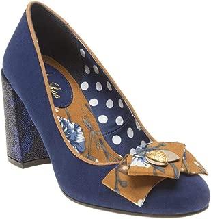 RUBY SHOO Pandora Womens Shoes Navy