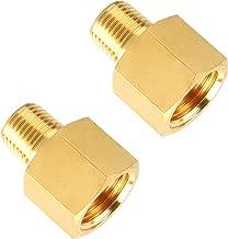 SUNGATOR Brass Pipe Fitting, Adapter, 1/8