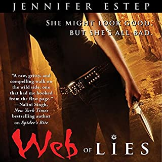 Web of Lies     Elemental Assassin, Book 2              Written by:                                                                                                                                 Jennifer Estep                               Narrated by:                                                                                                                                 Lauren Fortgang                      Length: 12 hrs and 13 mins     2 ratings     Overall 5.0