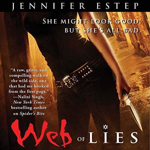 Web of Lies audiobook cover art