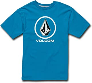 Volcom Big Boys' Crisp Stone Basic Fit Short Sleeve Tee
