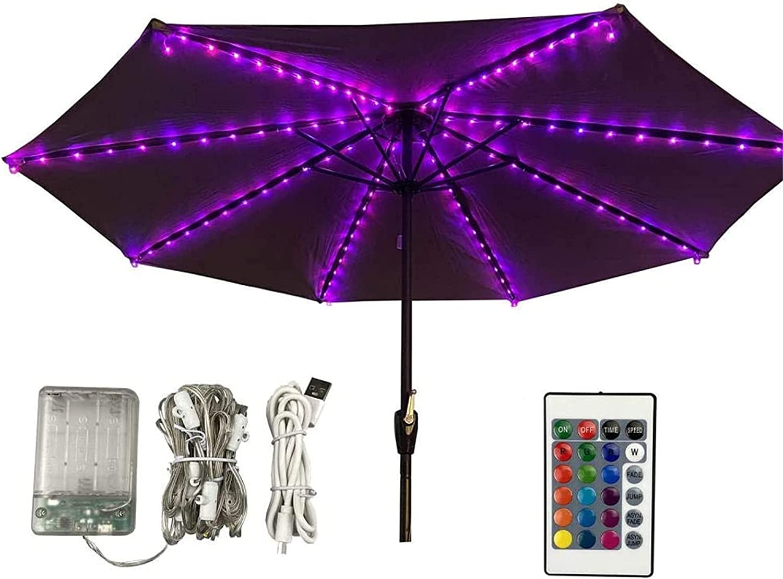 List price Max 75% OFF Umbrella Pole Light 104Led Water Garden Outdoor