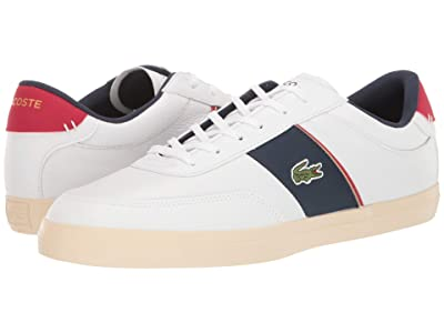 Lacoste Court-Master 319 6 (White/Navy/Red) Men