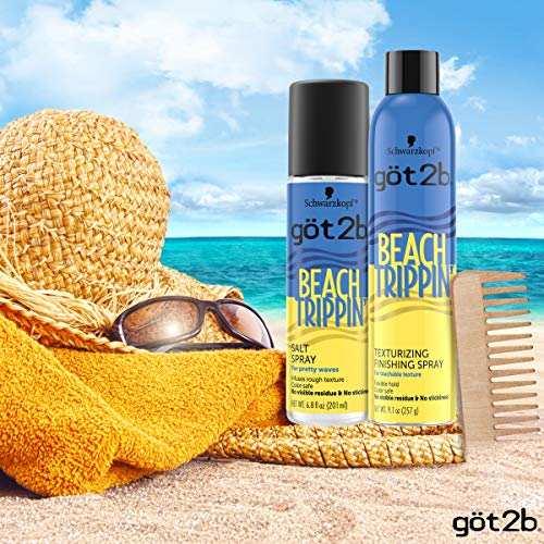 Got2b Beach Trippin' Salt Spray, Hair Spray, 6.8 Fl Oz