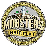Mobsters Hair Clay, Professional Styling Product for Men with a Matte Finish, Strong