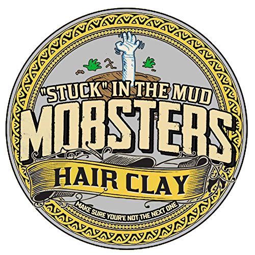 Mobsters Pomada para el pelo de base acuosa, fijación fuerte, acabado mate, cera para el pelo deluxe, uso en peluquerías, lata grande de 150 g edición especial