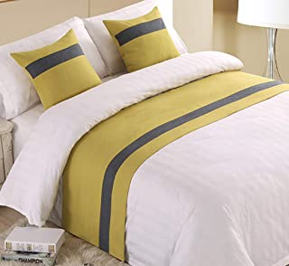 Best yellow bed runner Reviews