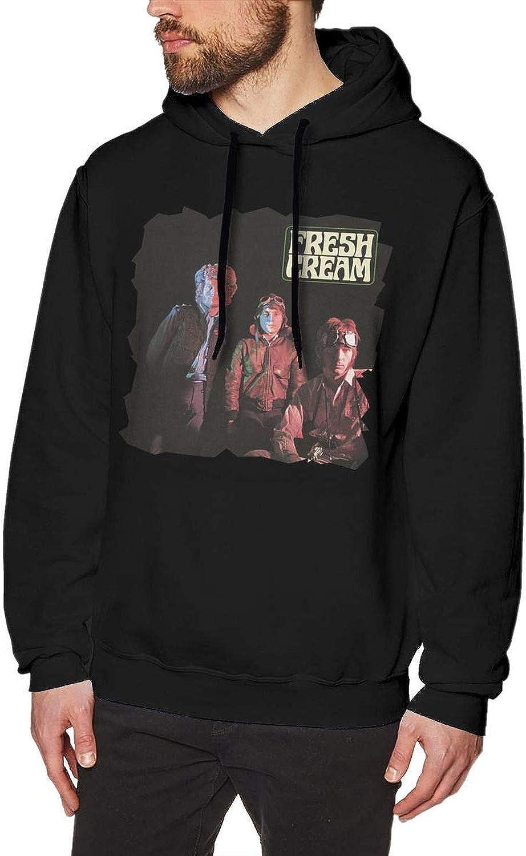 Gbfyefin Cream Fresh Cream Mens Hoodies Sweater Black