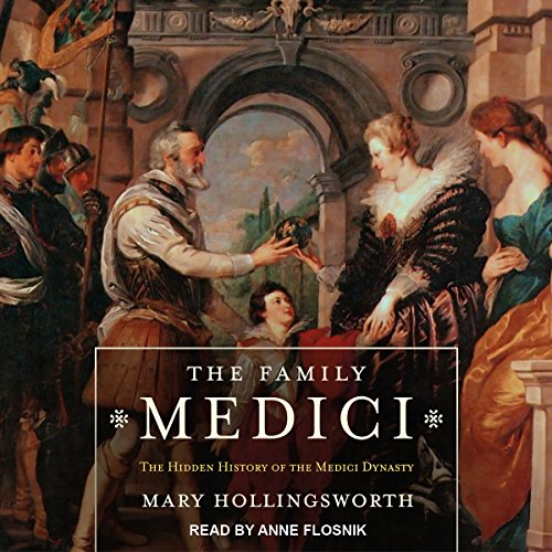 The Family Medici audiobook cover art