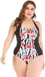 ジンリガーデン女性の大型印刷セクシービキニスリングハイウエストスプリット水着スカート