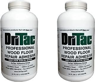 Dritac 32 Fl Oz. Professional Wood Floor Repair Adhesive 2 Pack