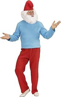 Da Uomo Divertente Nano Da Giardino Nano Costume Favola Costume Adulto Vestito