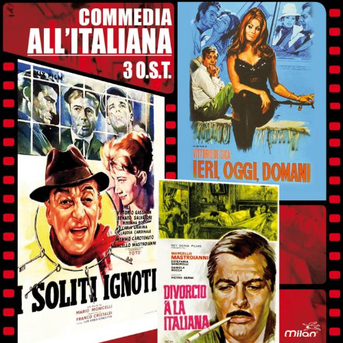 Comedia all'italiana (3 Original Motion Picture Sountracks Soliti Ignoti / Divorcio a la Italiana / Ieri, Oggi, Domani)