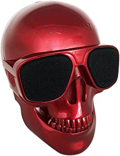 $25 » Skull Speaker Portable Bluetooth Mini Speakers Bass Stereo Compatible for Desktop PC/Laptop/Mobile Phone/MP3/MP4 Player fo...