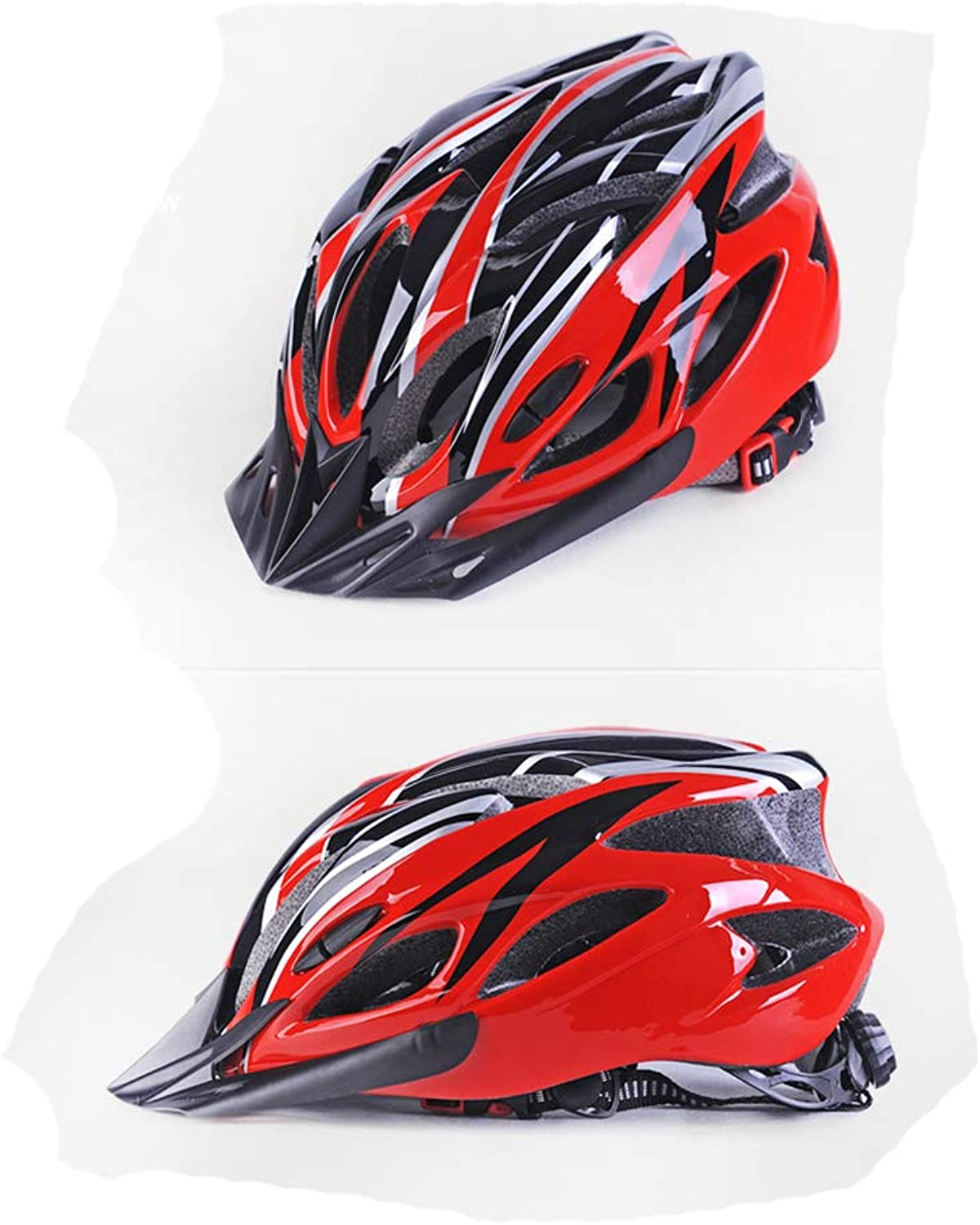 Cycling Helmet Lightweight Bicycle Helmet Insect Net Padded Road Mountain Bike Cycling Comfortable Breathable Predect Adjustable Helmets,Black,M
