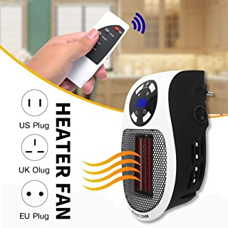 YXYXX 220V 500W Portátil Calentadores,Mini Oficina Calefactor Eléctrico,Simple Conveniencia Robusto/Como se muestra / 500W