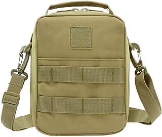 Haibeisi Fashion Unique Men's Bag Wallet Kit Pack Day Pack Shoulder Outdoor Sport Bag Multi-Function Travel Backpack (Color : Green, Size : 17 * 22 * 11CM)