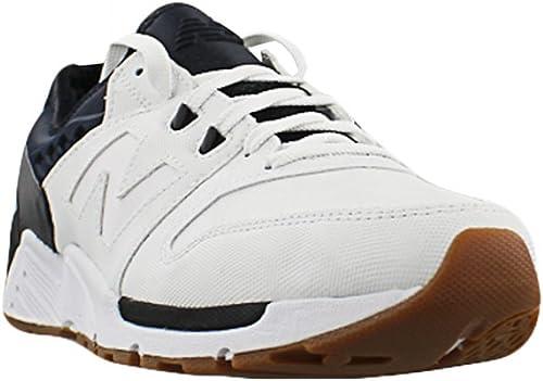 New Balance - Pour des hommes chaussures, Taille Taille  11.5 D(M) US, Couleur  blanc noir  grosses soldes