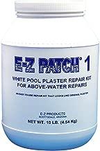 E-Z Products EZP-002 E-Z Patch 1 White Pool Plaster - 10lb Kit