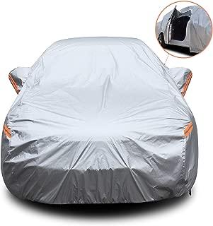 pioleUK Protecteur dombrage de Soleil de Couverture de Neige de Pare-Brise Avant de Voiture Automatique portatif Housses pour Auto