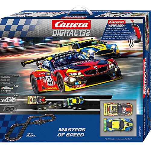 Carrera Digital 132 Masters of Speed Playset by Carrera USA