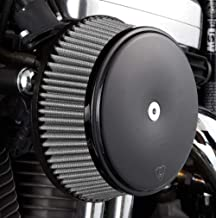 Arlen Ness 50-336 Black Big Sucker Stage I Air Filter Kit with Cover