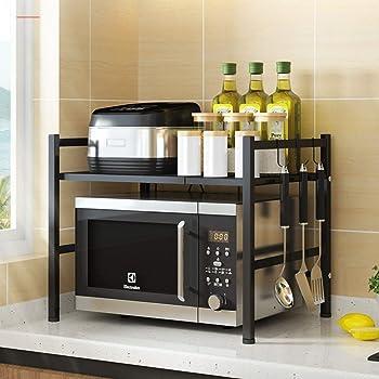 DoubleBlack Soporte para Microondas Estanter/ías Estante de Cocina