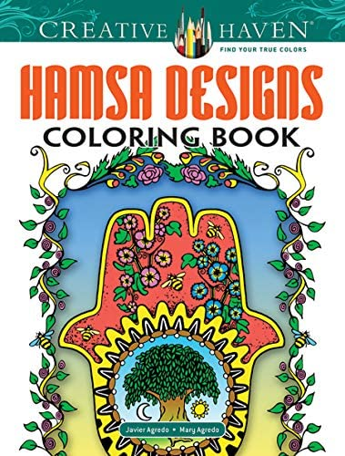 Creative Haven Hamsa Designs Coloring Book Creative Haven Coloring Books product image