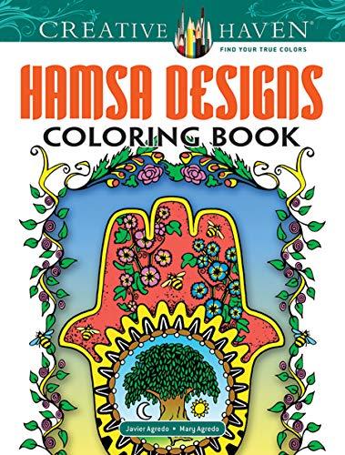 Price comparison product image Creative Haven Hamsa Designs Coloring Book (Creative Haven Coloring Books)