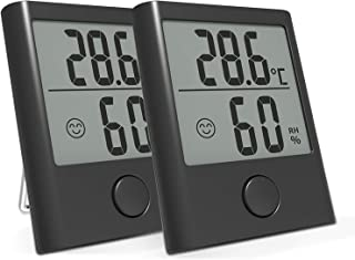 term/ómetro de temperatura autoadhesivo para invernadero interior y exterior Term/ómetro de pared para ventana jard/ín hogar