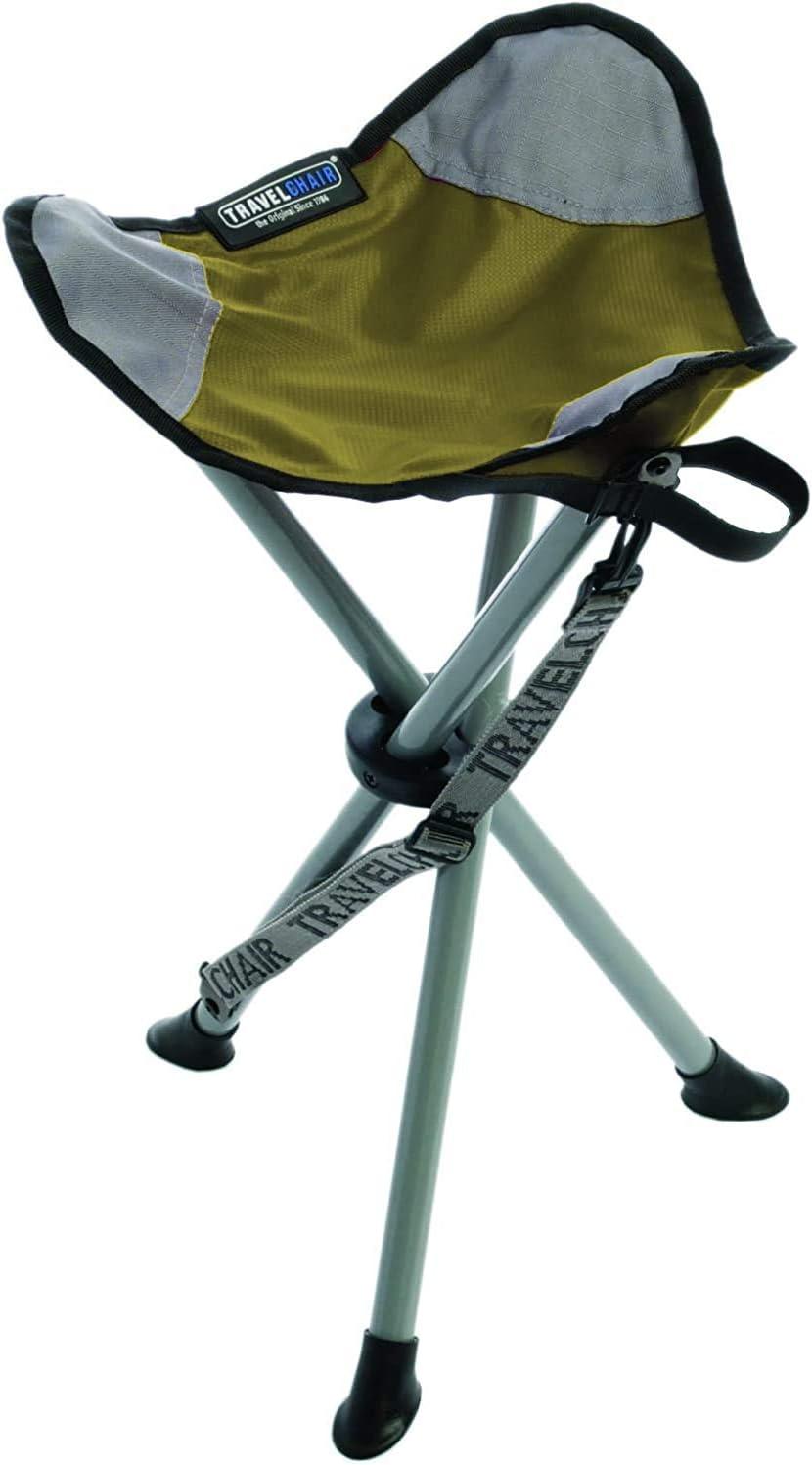 TravelChair Slacker Chair Super Compact Folding Tripod Camping Stool