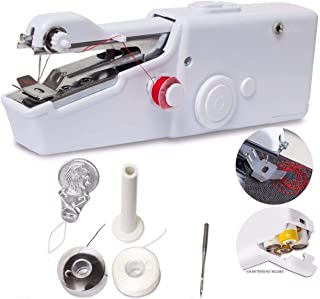 Portable Sewing Machine, Mini Sewing Professional Cordless Sewing Handheld Electric..