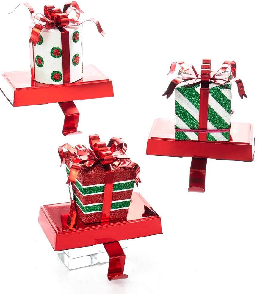Kurt Colorado Springs Mall Adler Set of 3A Stocking Box Hanger Outlet sale feature Gift